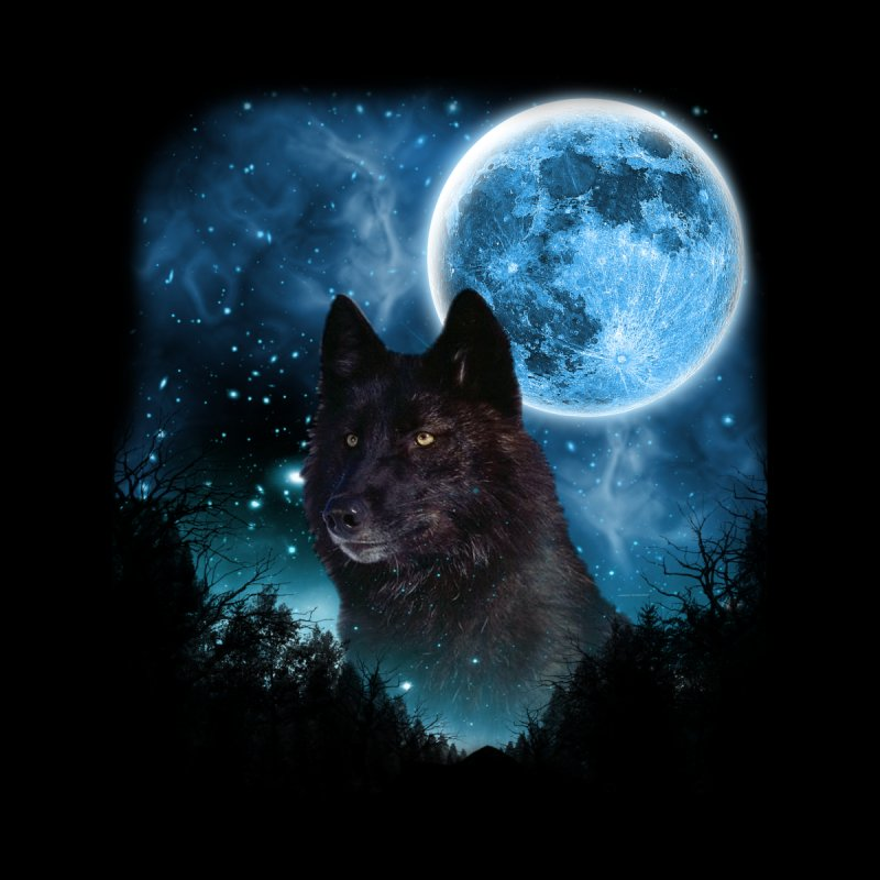 Black Wolfs Skylight 2 by ratherkool's Artist Shop