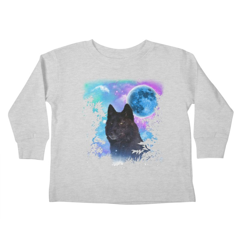 Black Wolf MidNight Forest   by ratherkool's Artist Shop