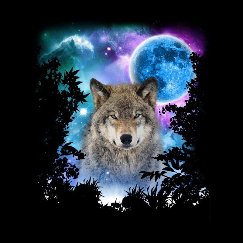 Timber Wolf MidNight Forest by ratherkool's Artist Shop