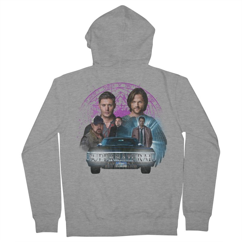 Supernatural Family dont end with Blood 2 Women's Zip-Up Hoody by ratherkool's Artist Shop