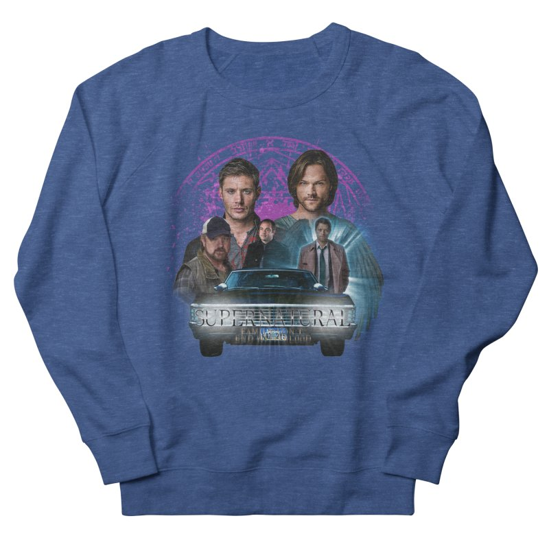 Supernatural Family dont end with Blood 2 Men's Sweatshirt by ratherkool's Artist Shop