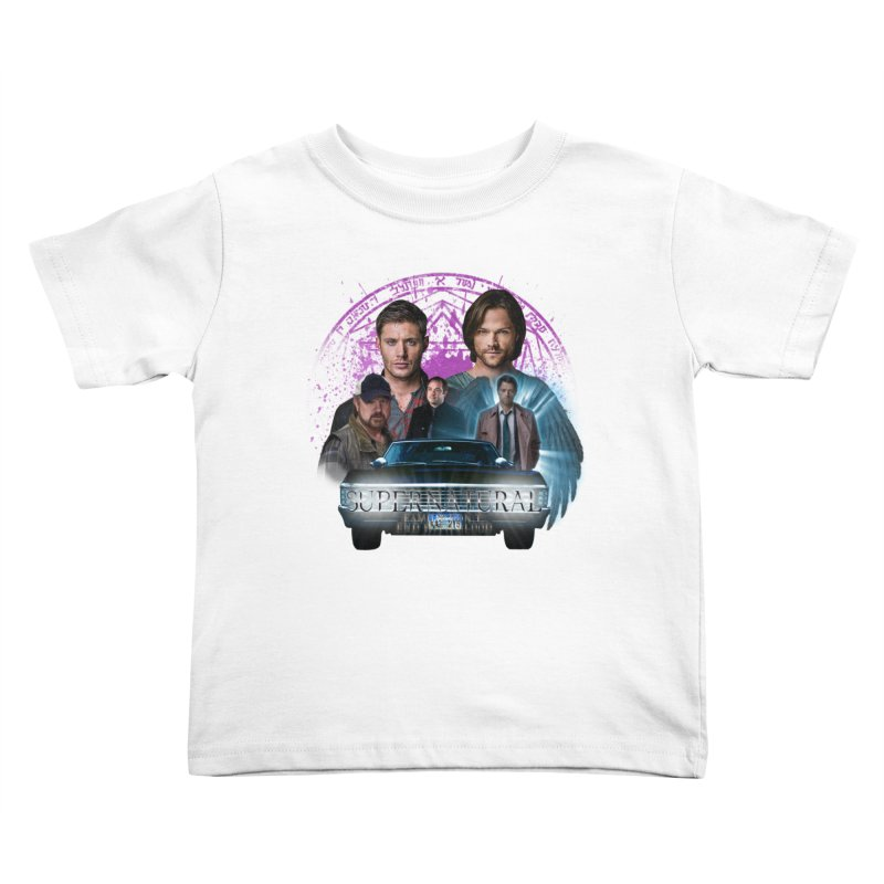 Supernatural Family dont end with Blood 2 Kids Toddler T-Shirt by ratherkool's Artist Shop