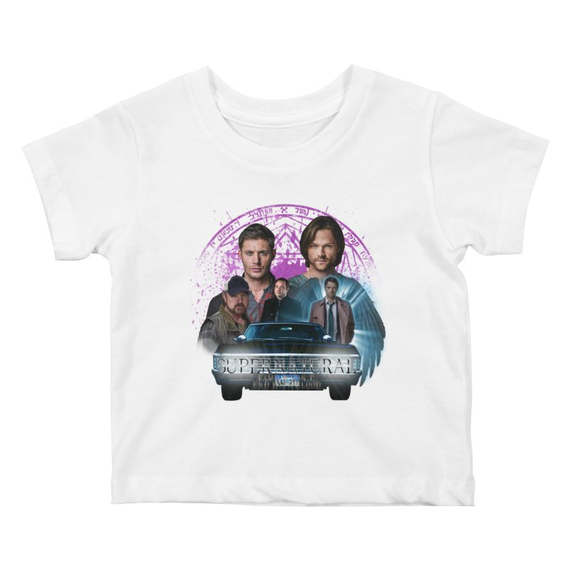 Supernatural Family dont end with Blood 2 Kids Baby T-Shirt by ratherkool's Artist Shop