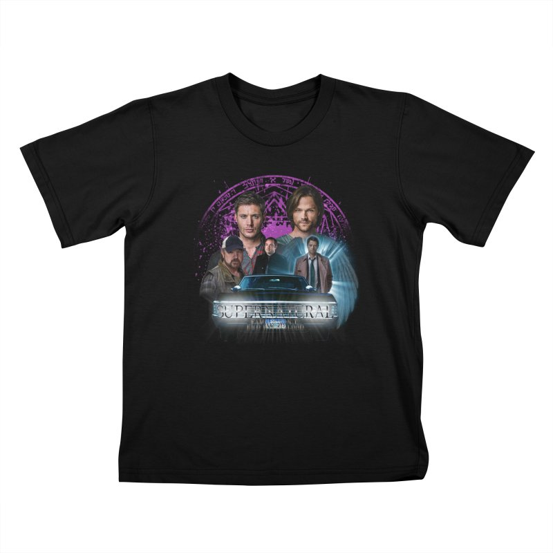 Supernatural Family dont end with Blood 2 Kids T-Shirt by ratherkool's Artist Shop