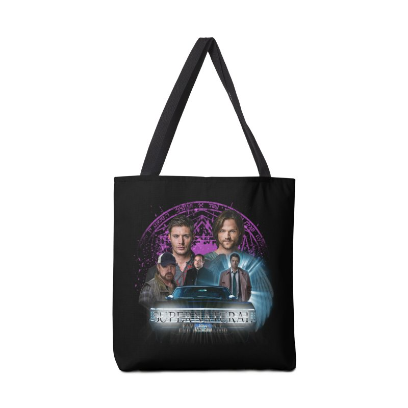 Supernatural Family dont end with Blood 2 Accessories Bag by ratherkool's Artist Shop