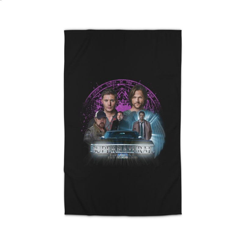 Supernatural Family dont end with Blood 2 Home Rug by ratherkool's Artist Shop