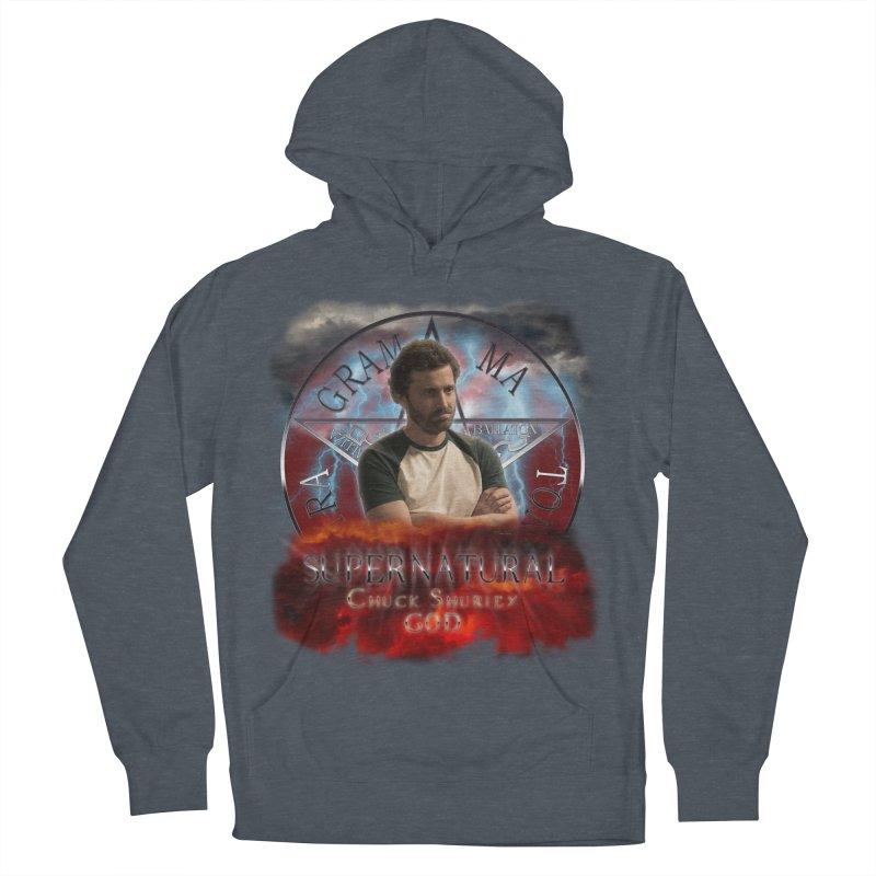 Supernatural Chuck Shurley GOD 2 Men's Pullover Hoody by ratherkool's Artist Shop