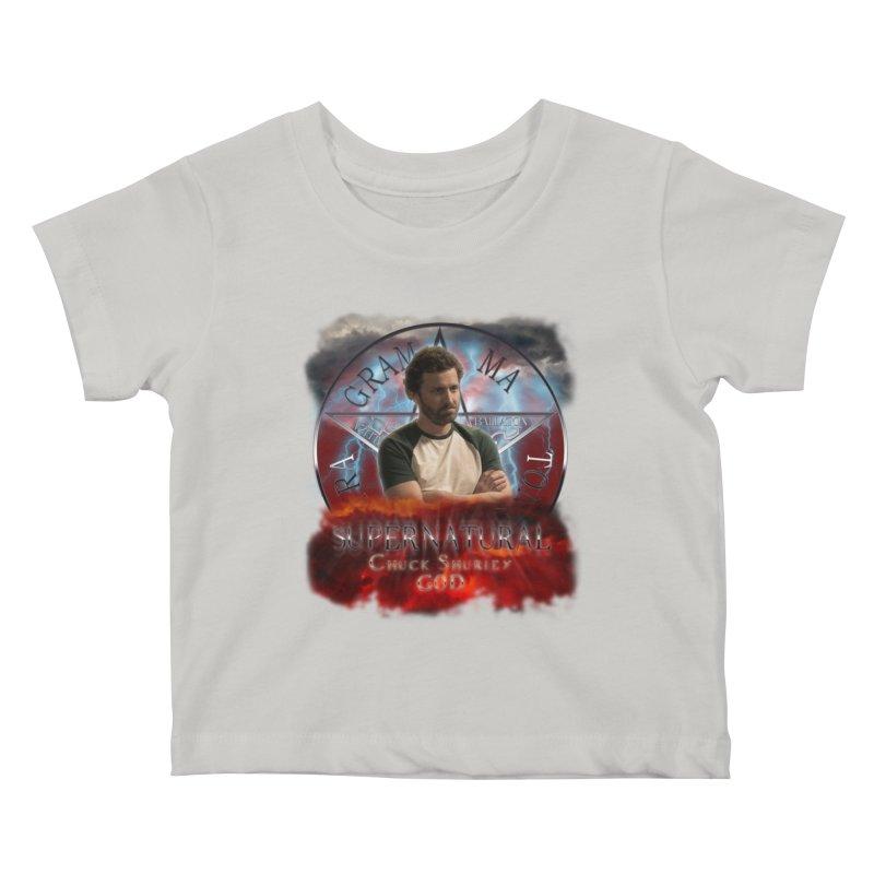 Supernatural Chuck Shurley GOD 2 Kids Baby T-Shirt by ratherkool's Artist Shop