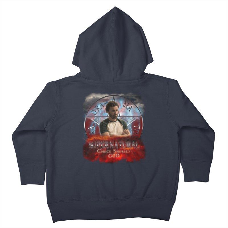 Supernatural Chuck Shurley GOD 2 Kids Toddler Zip-Up Hoody by ratherkool's Artist Shop