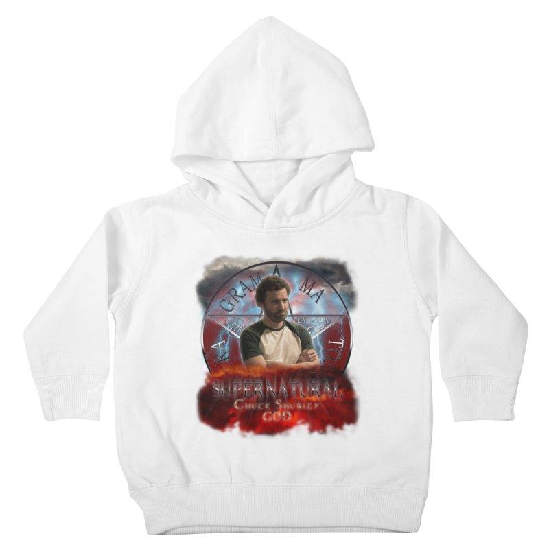 Supernatural Chuck Shurley GOD 2 Kids Toddler Pullover Hoody by ratherkool's Artist Shop