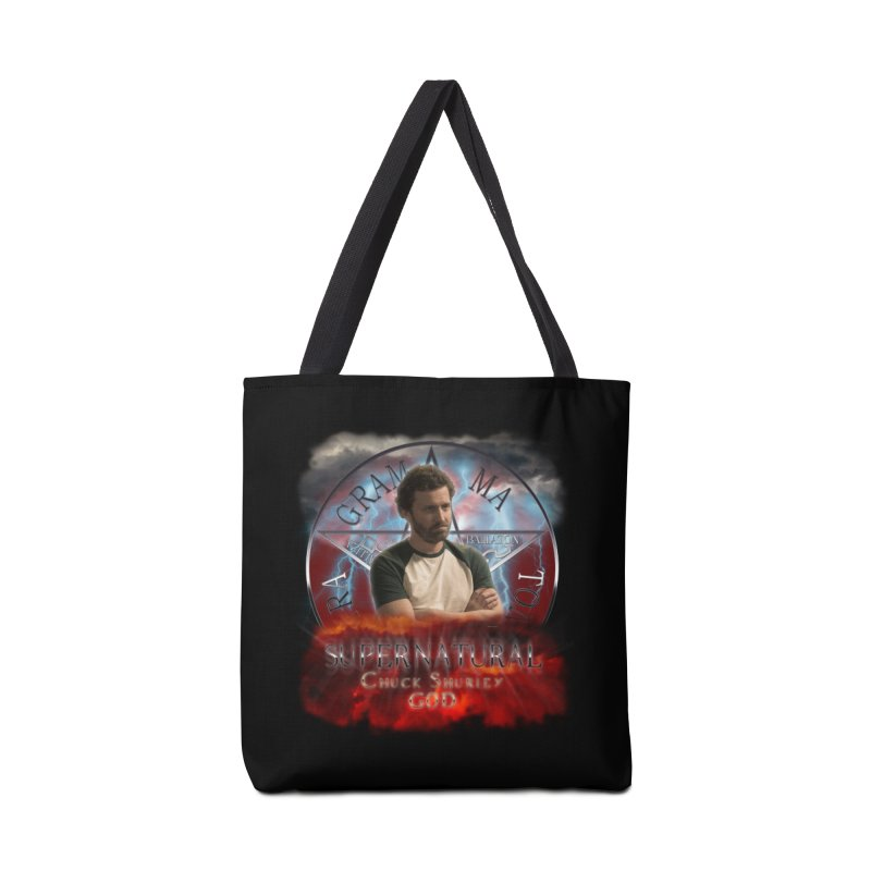 Supernatural Chuck Shurley GOD 2 Accessories Bag by ratherkool's Artist Shop