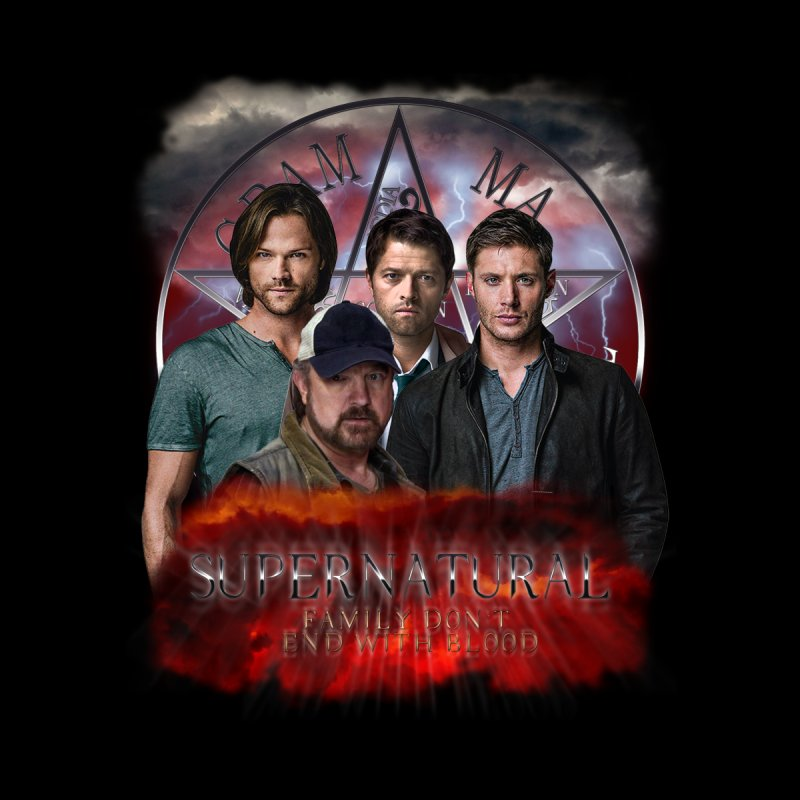 Supernatural Family dont end with blood 4C9 by ratherkool's Artist Shop
