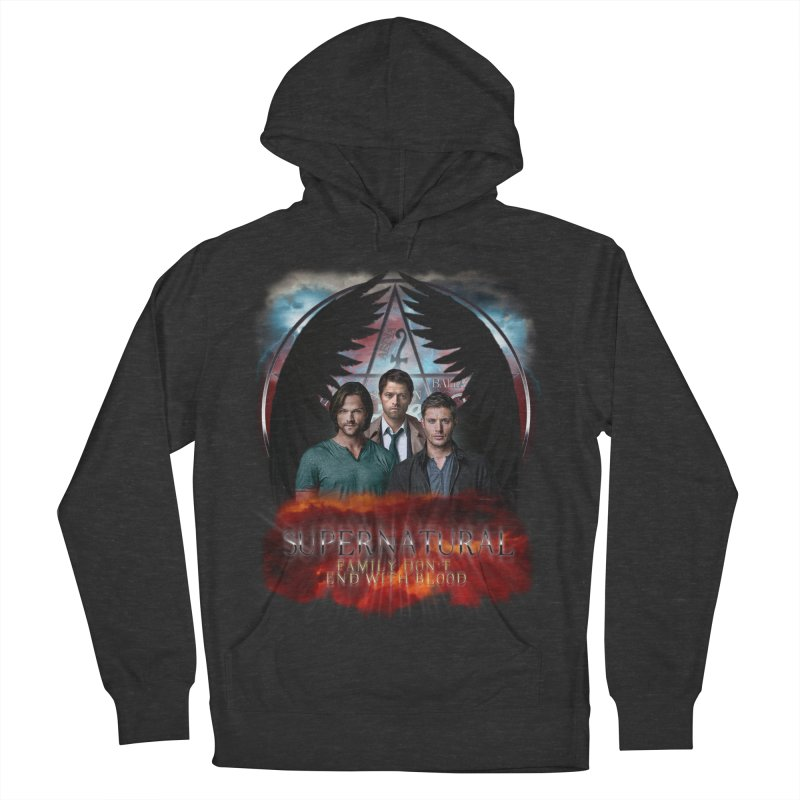 Supernatural Family Dont end with blood C9 Women's Pullover Hoody by ratherkool's Artist Shop