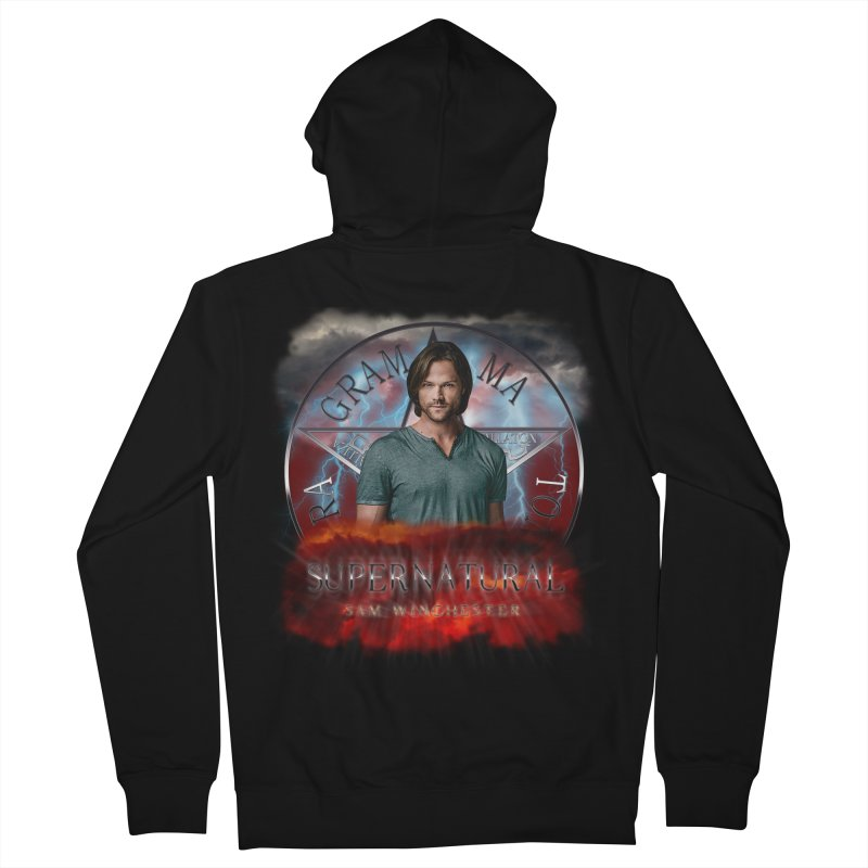 Supernatural Sam Winchester 2L Women's Zip-Up Hoody by ratherkool's Artist Shop