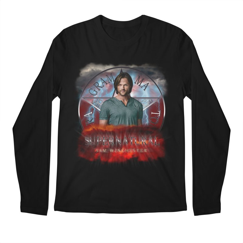 Supernatural Sam Winchester 2L Men's Longsleeve T-Shirt by ratherkool's Artist Shop