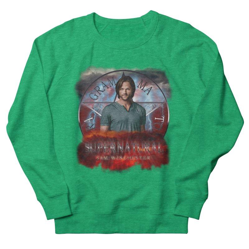 Supernatural Sam Winchester 2L Men's Sweatshirt by ratherkool's Artist Shop