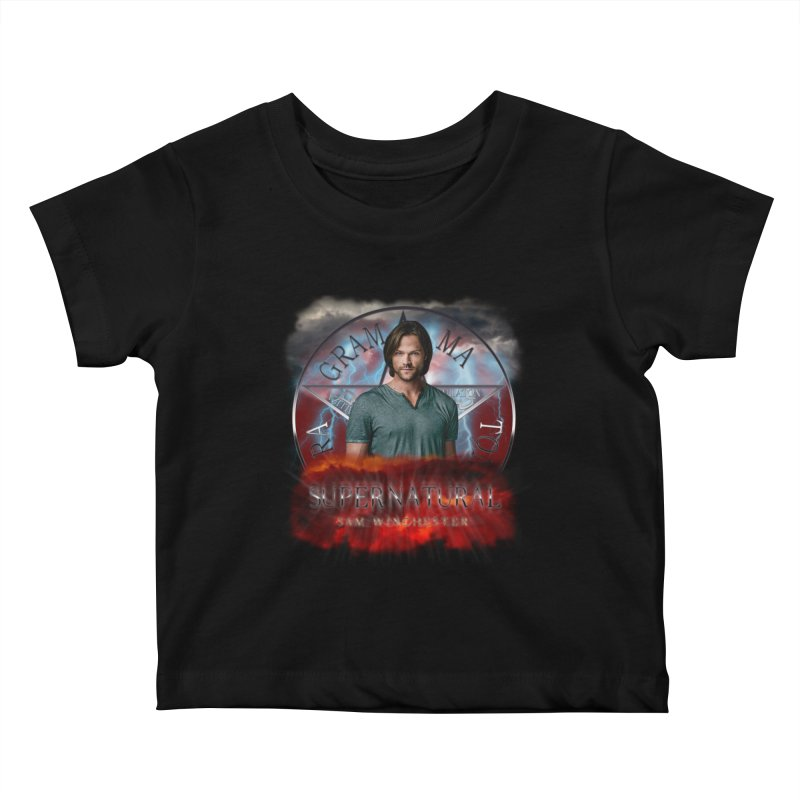Supernatural Sam Winchester 2L Kids Baby T-Shirt by ratherkool's Artist Shop