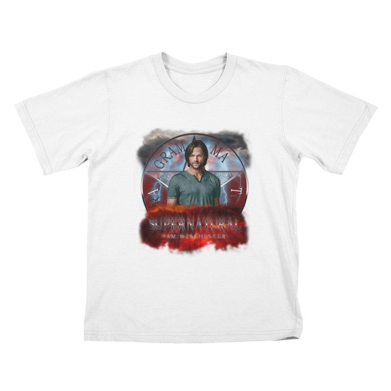 Supernatural Sam Winchester 2L Kids T-Shirt by ratherkool's Artist Shop