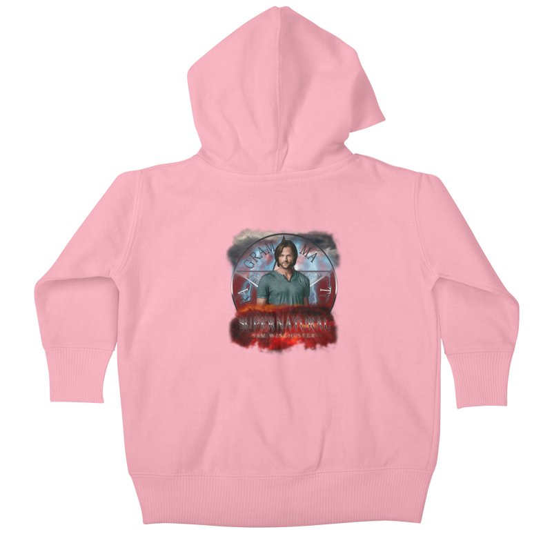 Supernatural Sam Winchester 2L Kids Baby Zip-Up Hoody by ratherkool's Artist Shop