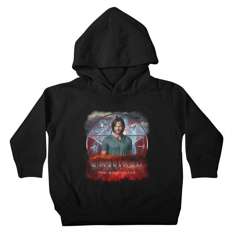 Supernatural Sam Winchester 2L Kids Toddler Pullover Hoody by ratherkool's Artist Shop