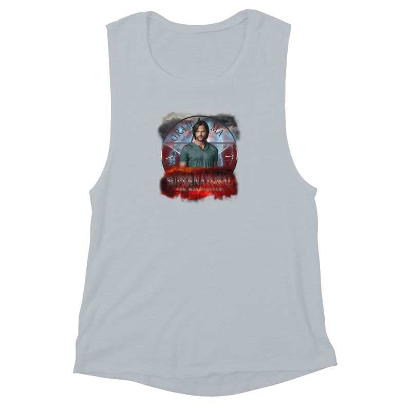 Supernatural Sam Winchester 2L Women's Muscle Tank by ratherkool's Artist Shop