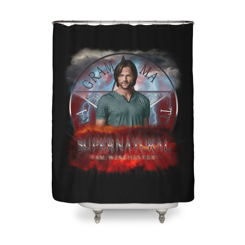 Supernatural Sam Winchester 2L Home Shower Curtain by ratherkool's Artist Shop