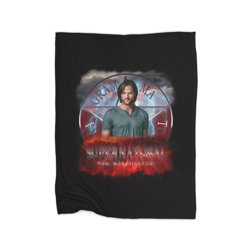 Supernatural Sam Winchester 2L Home Blanket by ratherkool's Artist Shop