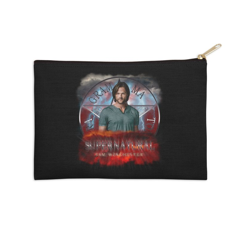 Supernatural Sam Winchester 2L Accessories Zip Pouch by ratherkool's Artist Shop
