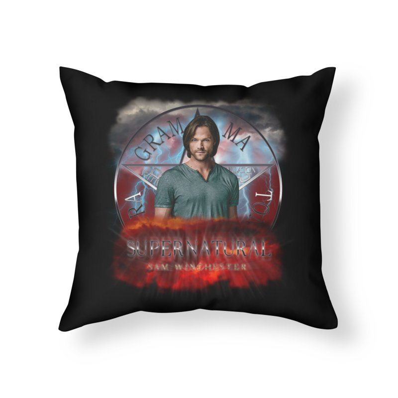 Supernatural Sam Winchester 2L Home Throw Pillow by ratherkool's Artist Shop