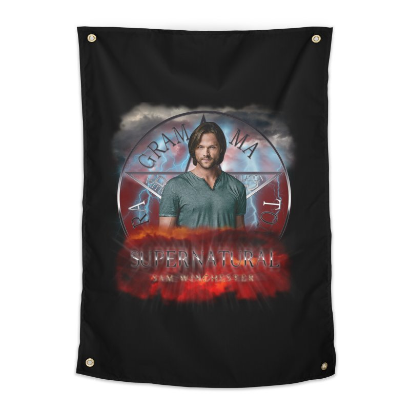 Supernatural Sam Winchester 2L Home Tapestry by ratherkool's Artist Shop