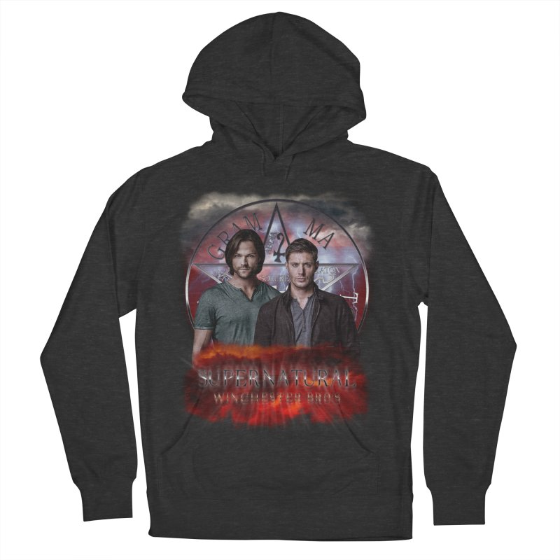 Supernatural Winchester Bros 2 Women's Pullover Hoody by ratherkool's Artist Shop
