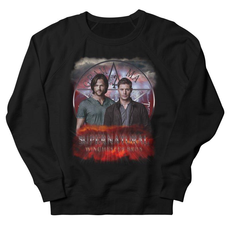 Supernatural Winchester Bros 2 Men's Sweatshirt by ratherkool's Artist Shop