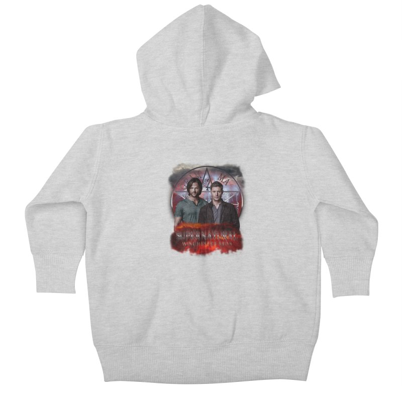 Supernatural Winchester Bros 2 Kids Baby Zip-Up Hoody by ratherkool's Artist Shop
