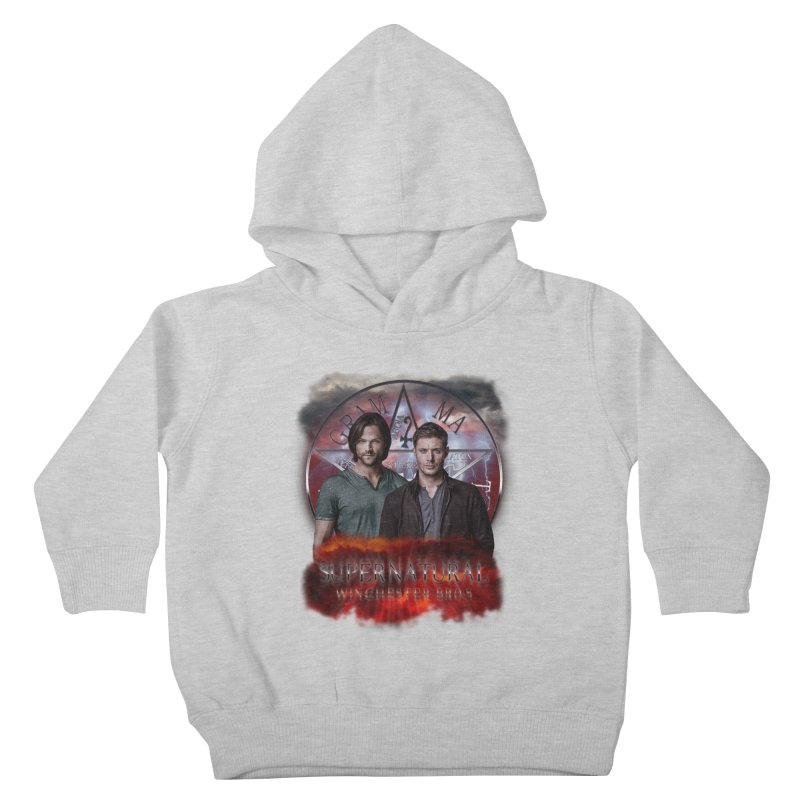 Supernatural Winchester Bros 2 Kids Toddler Pullover Hoody by ratherkool's Artist Shop