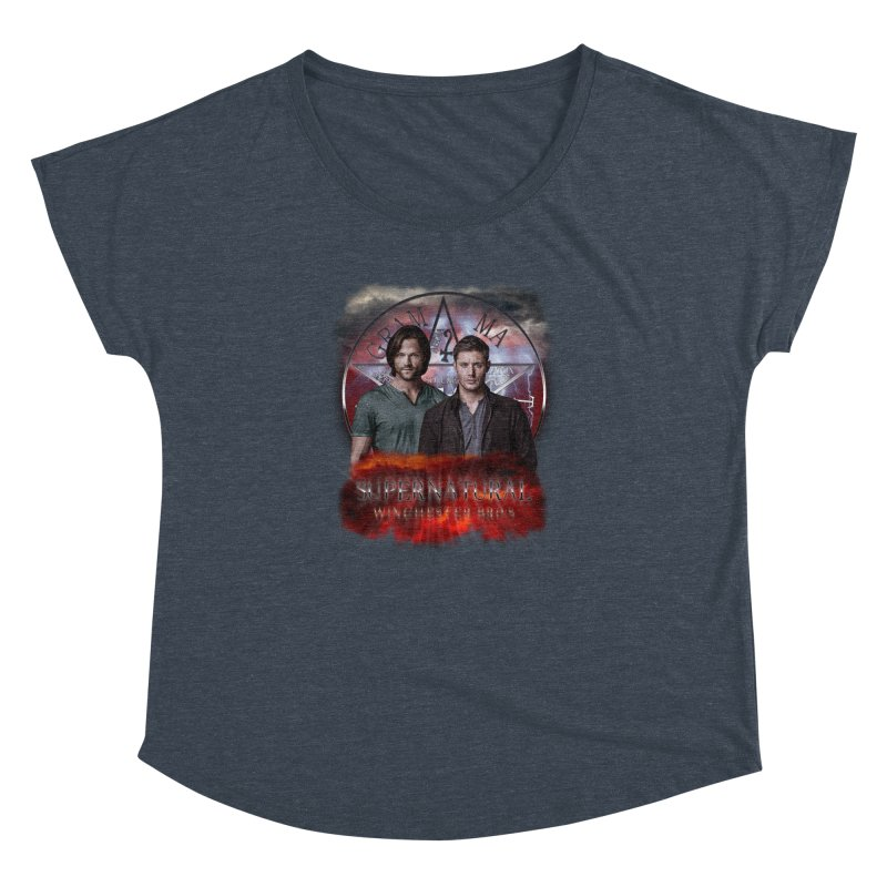 Supernatural Winchester Bros 2 Women's Dolman by ratherkool's Artist Shop
