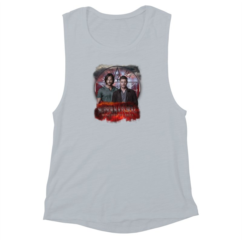 Supernatural Winchester Bros 2 Women's Muscle Tank by ratherkool's Artist Shop