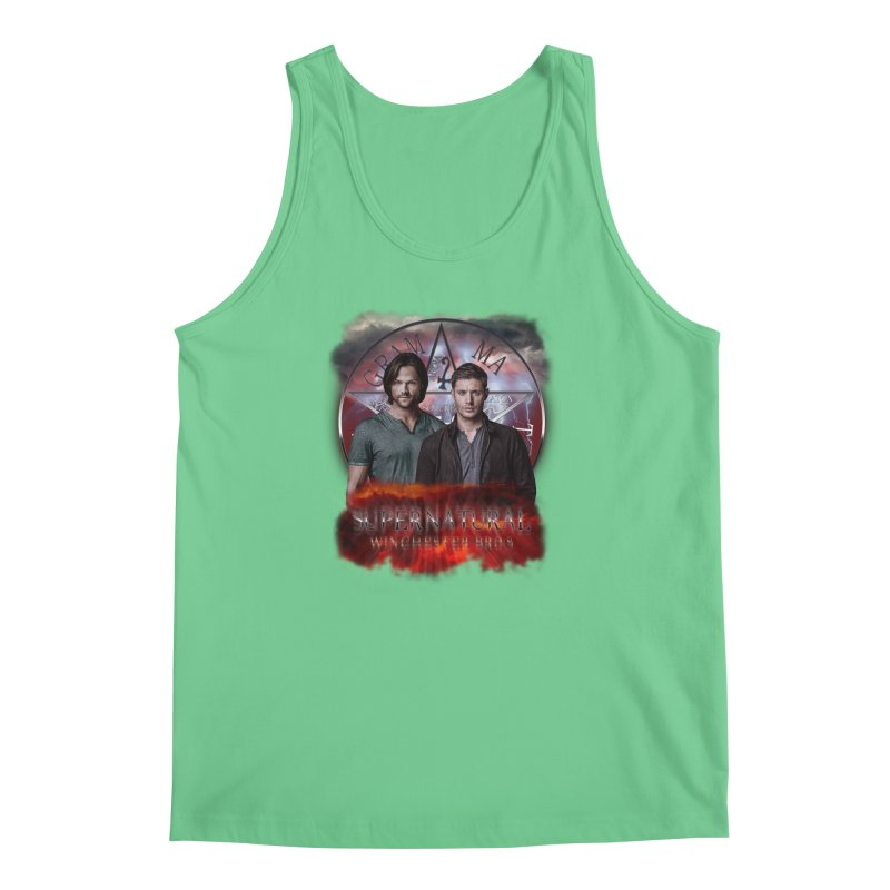 Supernatural Winchester Bros 2 Men's Tank by ratherkool's Artist Shop
