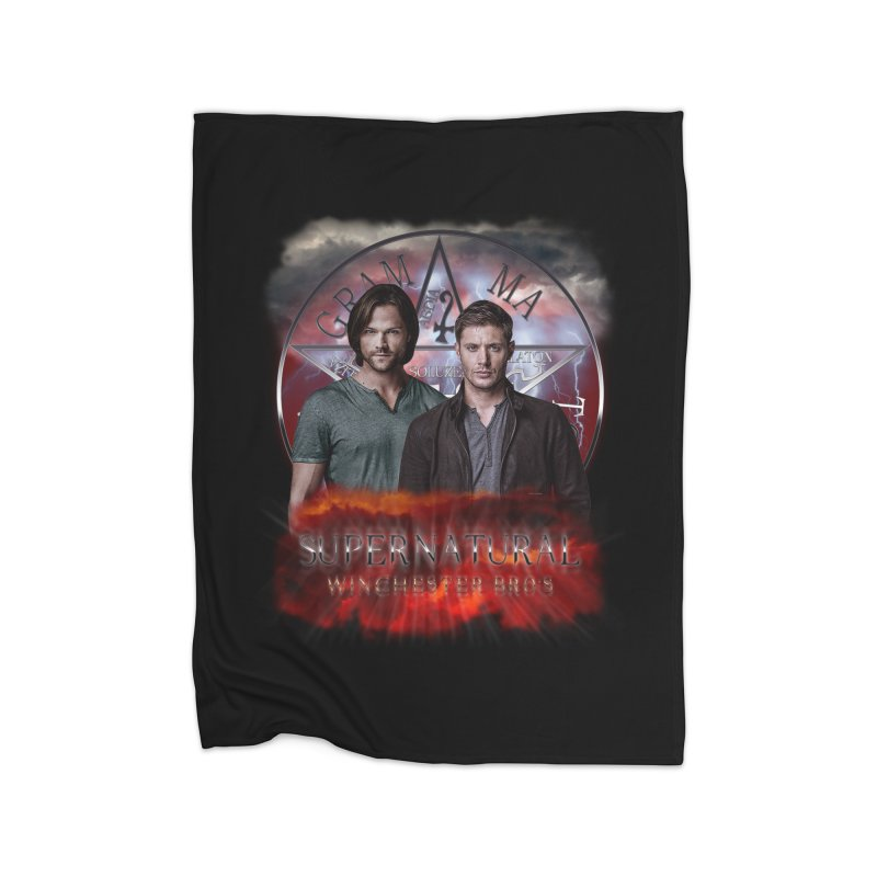 Supernatural Winchester Bros 2 Home Blanket by ratherkool's Artist Shop