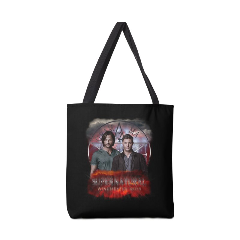 Supernatural Winchester Bros 2 Accessories Bag by ratherkool's Artist Shop