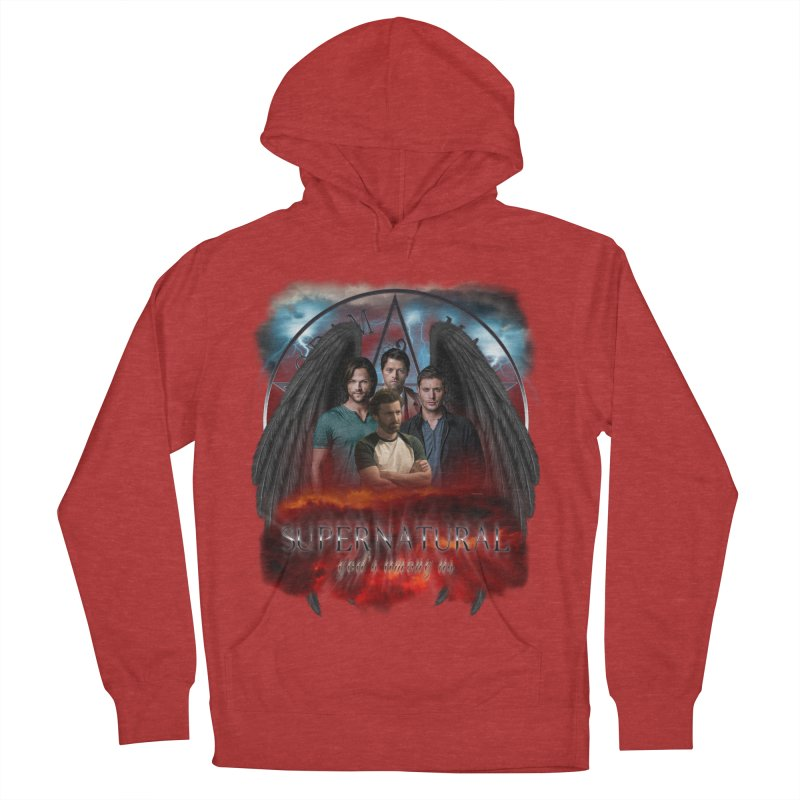 Supernatural Gods Among us 2 Women's Pullover Hoody by ratherkool's Artist Shop