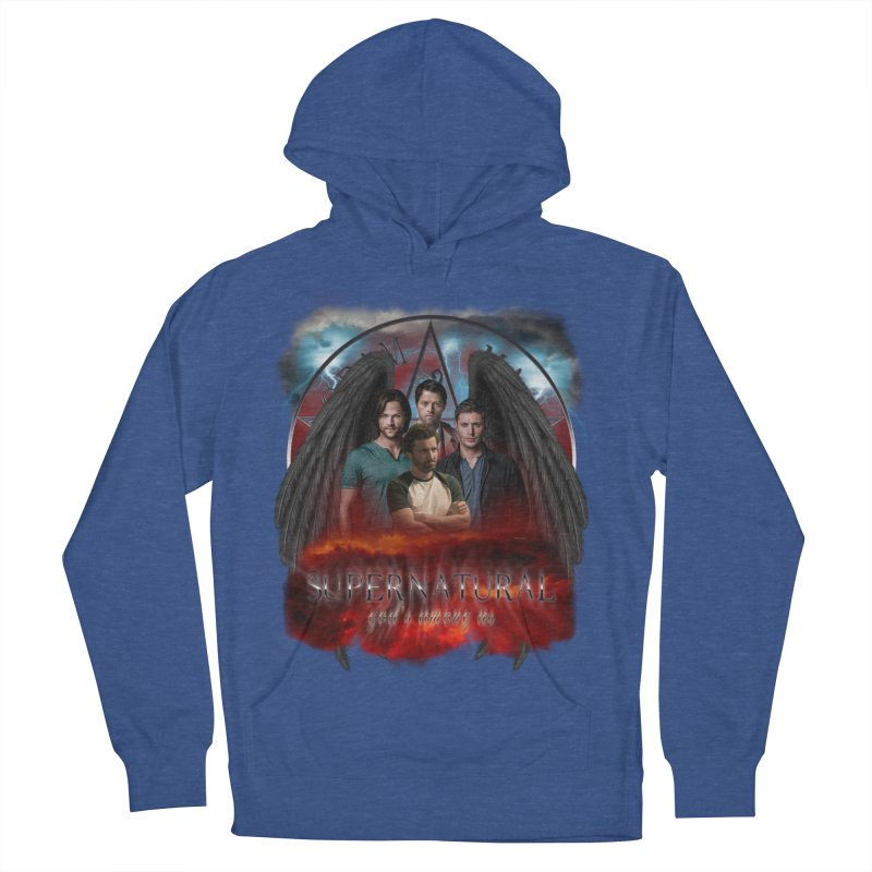 Supernatural Gods Among us 2 Men's Pullover Hoody by ratherkool's Artist Shop