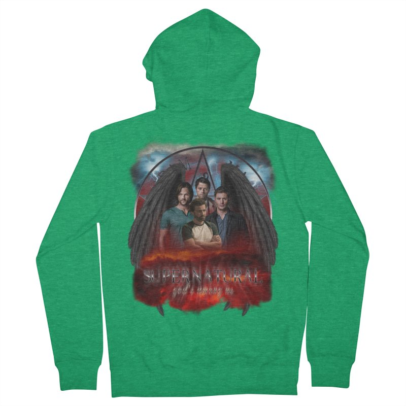 Supernatural Gods Among us 2 Men's Zip-Up Hoody by ratherkool's Artist Shop