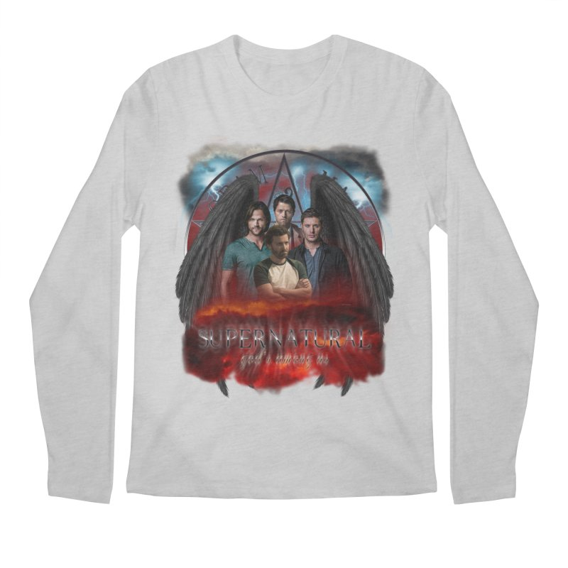 Supernatural Gods Among us 2 Men's Longsleeve T-Shirt by ratherkool's Artist Shop