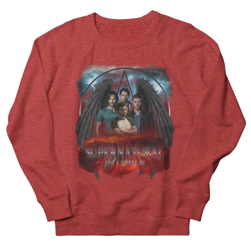 Supernatural Gods Among us 2 Men's Sweatshirt by ratherkool's Artist Shop