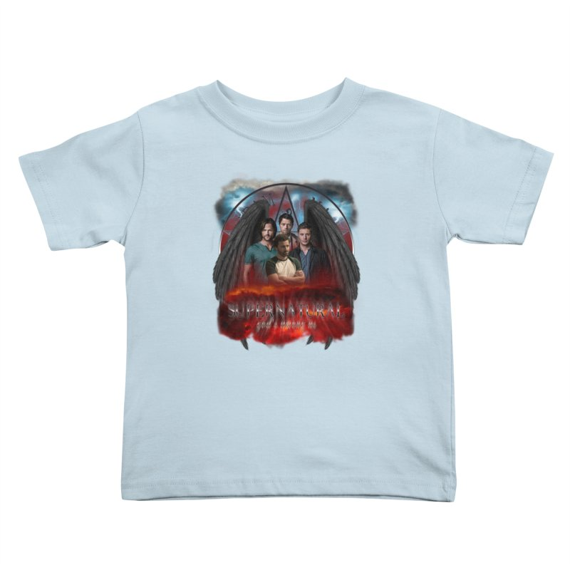 Supernatural Gods Among us 2 Kids Toddler T-Shirt by ratherkool's Artist Shop