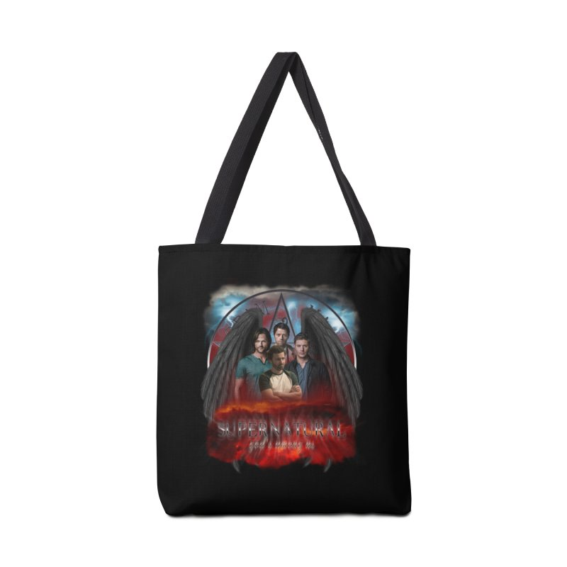 Supernatural Gods Among us 2 Accessories Bag by ratherkool's Artist Shop