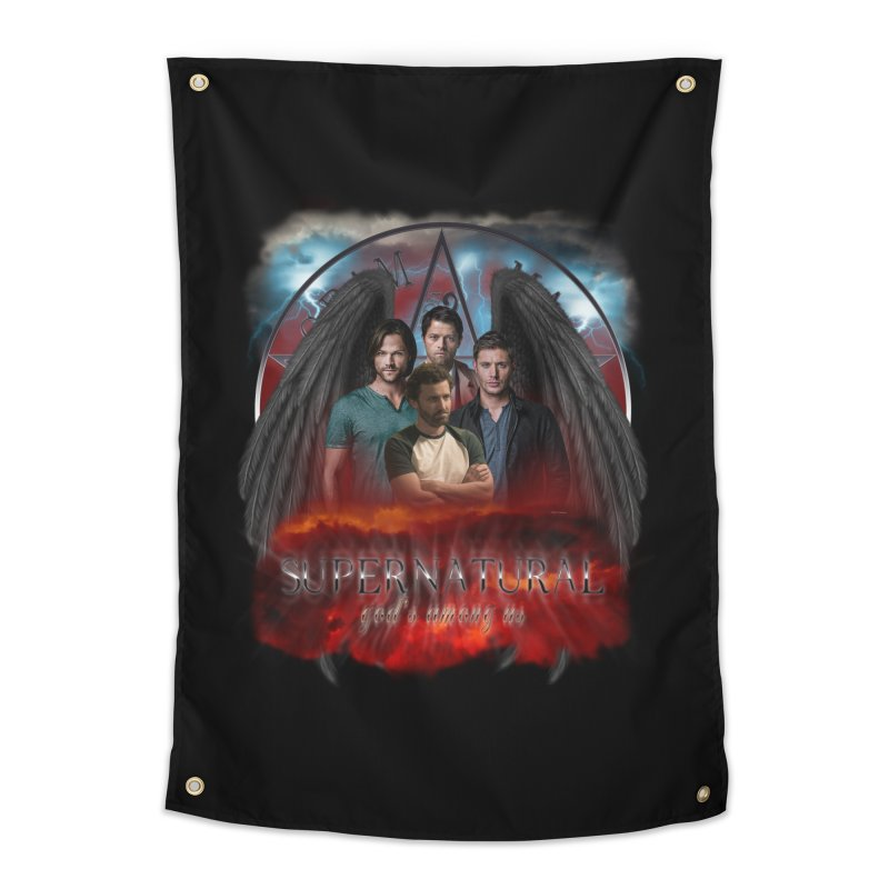 Supernatural Gods Among us 2 Home Tapestry by ratherkool's Artist Shop