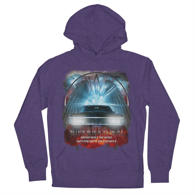 Supernatural Driver picks the music shotgun shuts his cakehole Darkness 2 Men's Pullover Hoody by ratherkool's Artist Shop