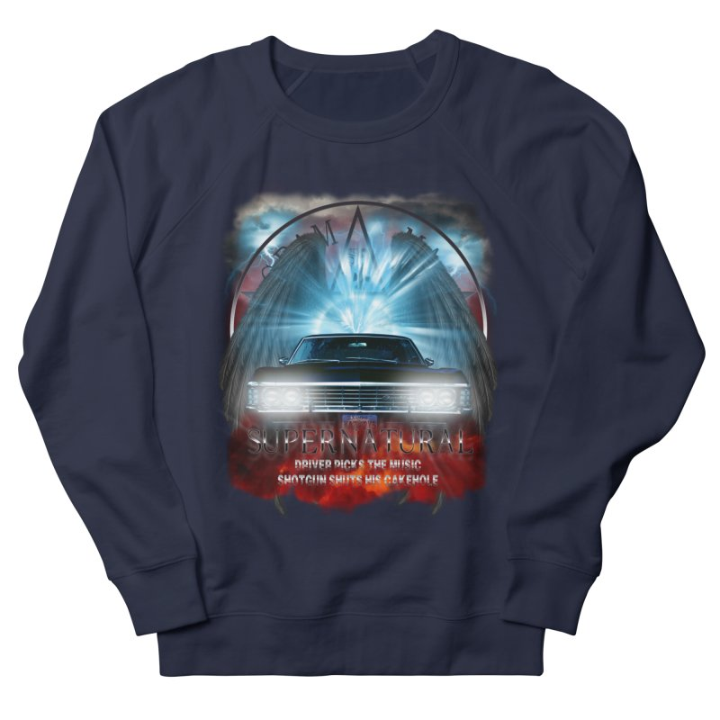 Supernatural Driver picks the music shotgun shuts his cakehole Darkness 2 Women's Sweatshirt by ratherkool's Artist Shop