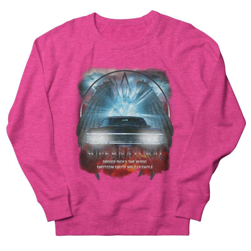 Supernatural Driver picks the music shotgun shuts his cakehole Darkness 2 Men's Sweatshirt by ratherkool's Artist Shop